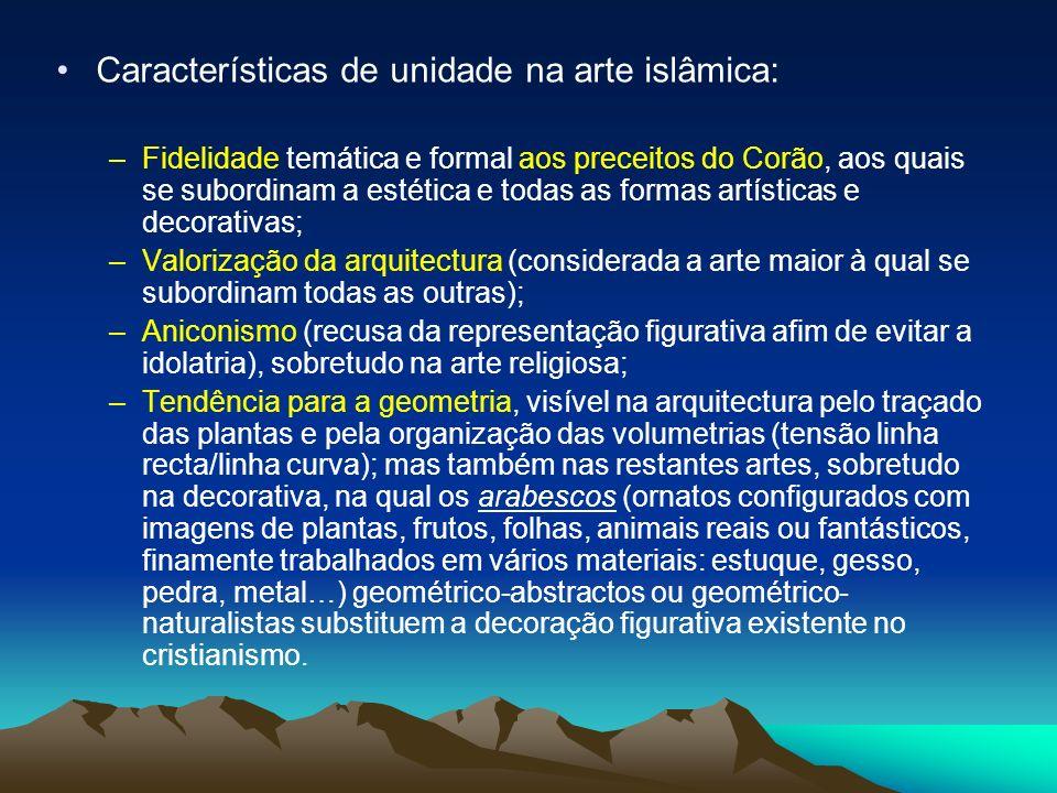 Características de unidade na arte islâmica: