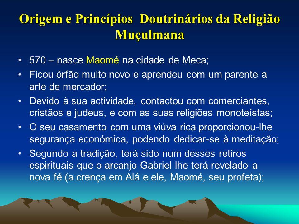 Origem e Princípios Doutrinários da Religião Muçulmana