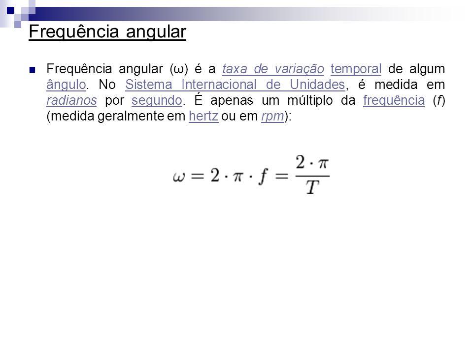 Frequência angular