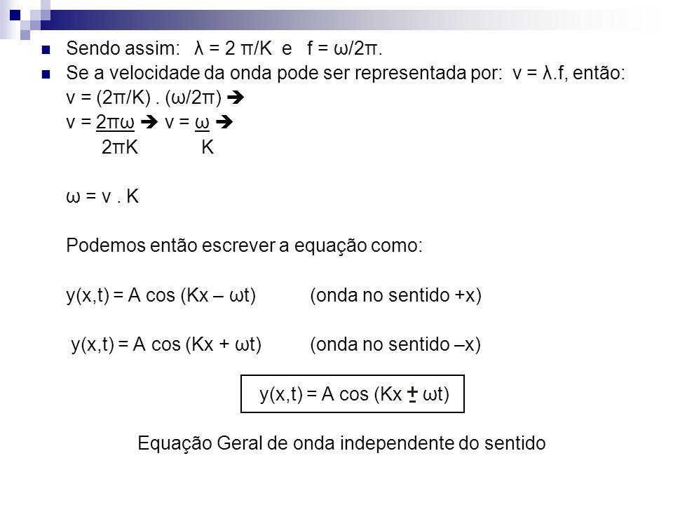 Equação Geral de onda independente do sentido