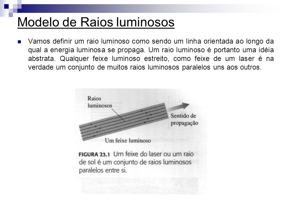 Modelo de Raios luminosos