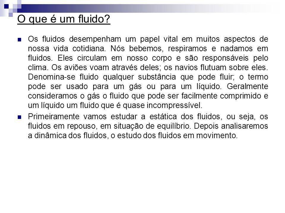 O que é um fluido