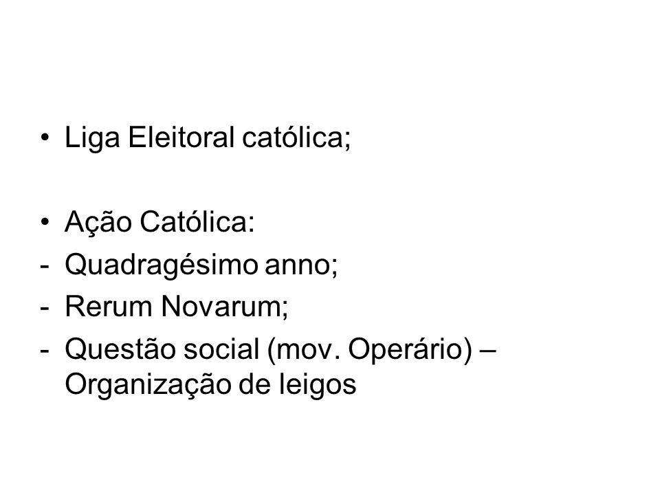 Liga Eleitoral católica;