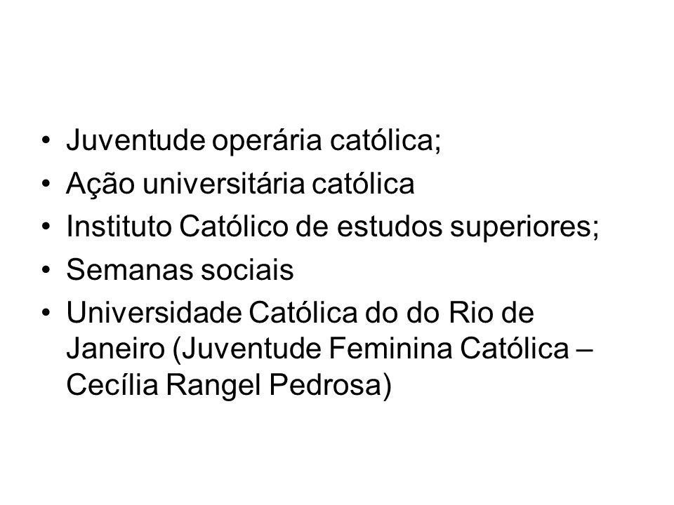 Juventude operária católica;
