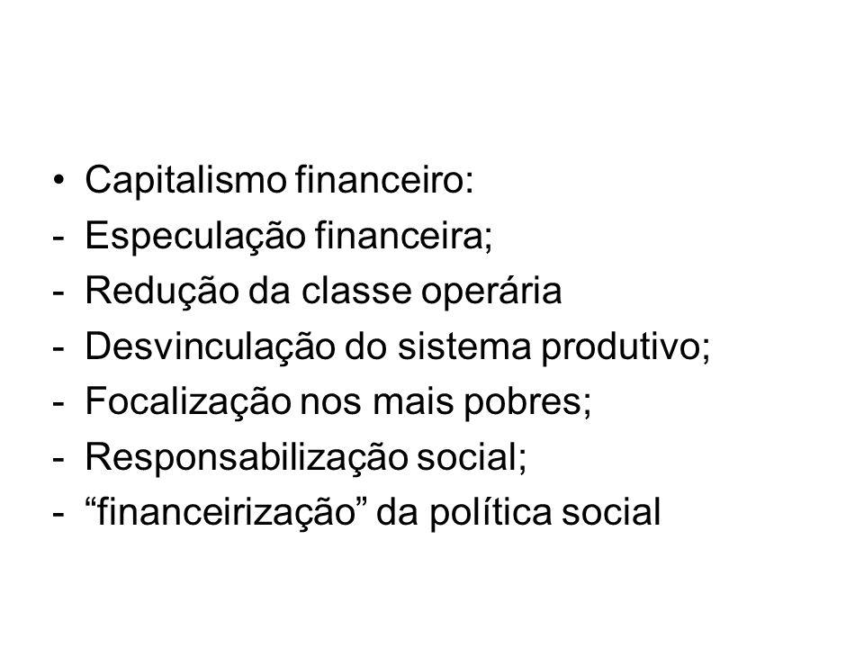 Capitalismo financeiro: