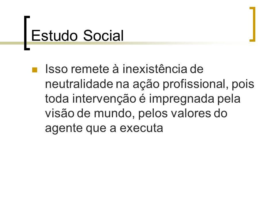 Estudo Social