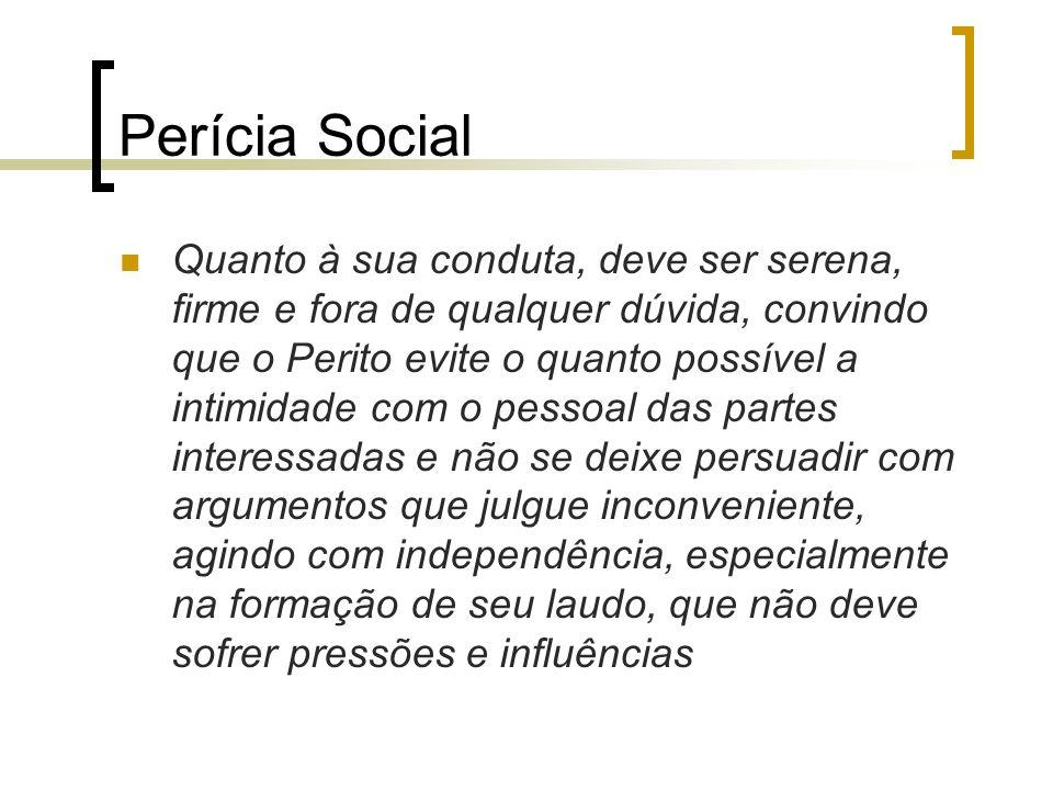 Perícia Social