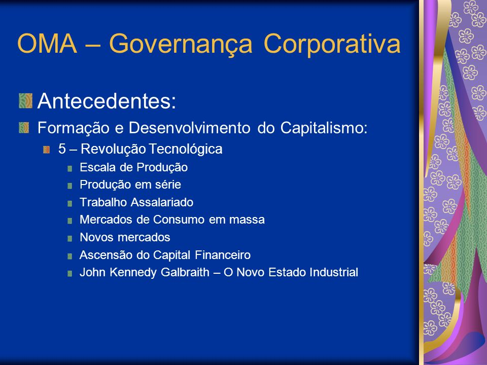 OMA – Governança Corporativa