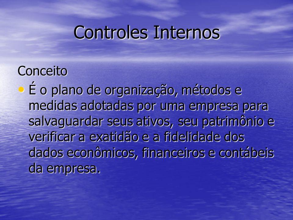 Controles Internos Conceito