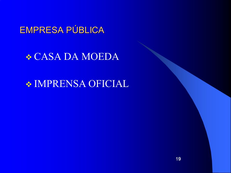 EMPRESA PÚBLICA CASA DA MOEDA IMPRENSA OFICIAL