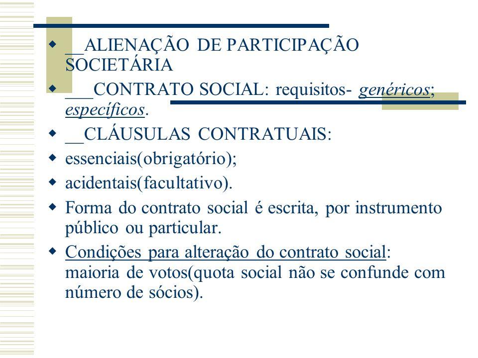 __ALIENAÇÃO DE PARTICIPAÇÃO SOCIETÁRIA
