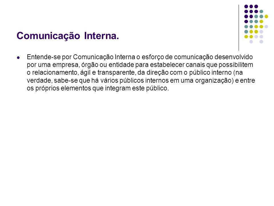 Comunicação Interna.
