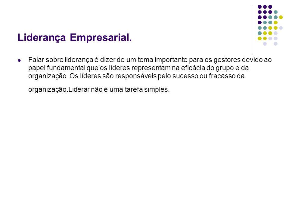 Liderança Empresarial.