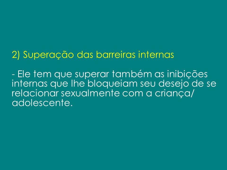 2) Superação das barreiras internas