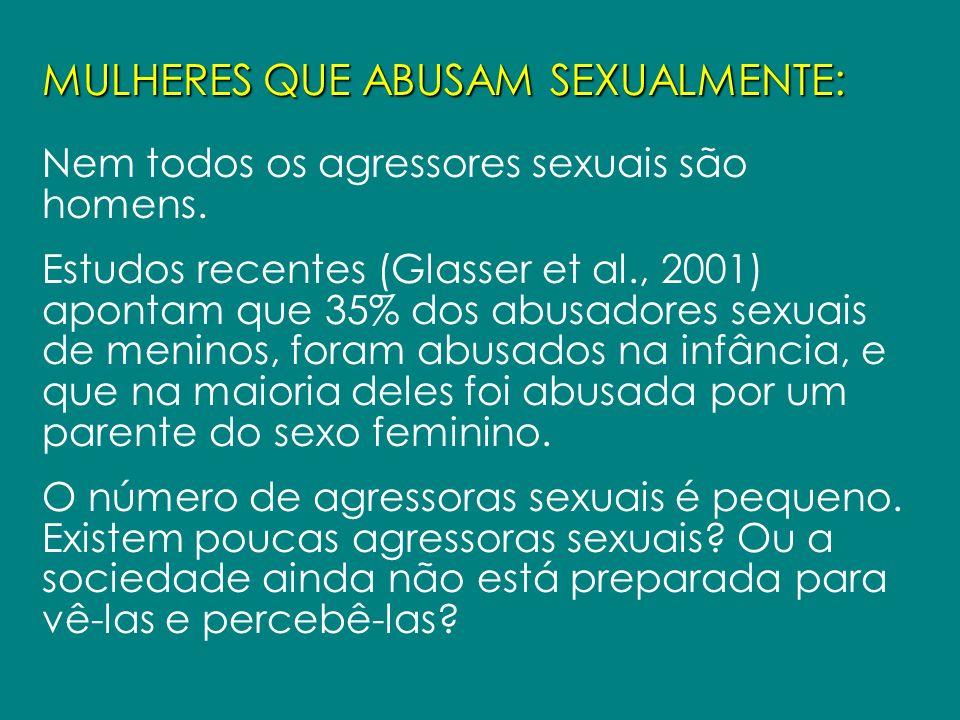 MULHERES QUE ABUSAM SEXUALMENTE: