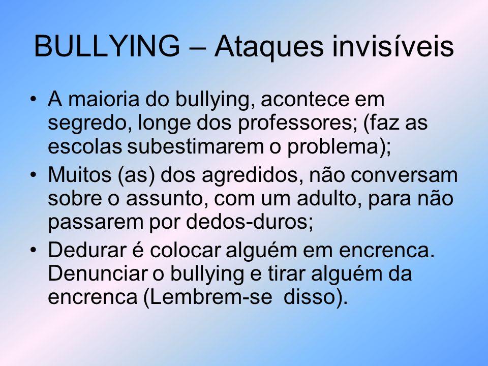 BULLYING – Ataques invisíveis