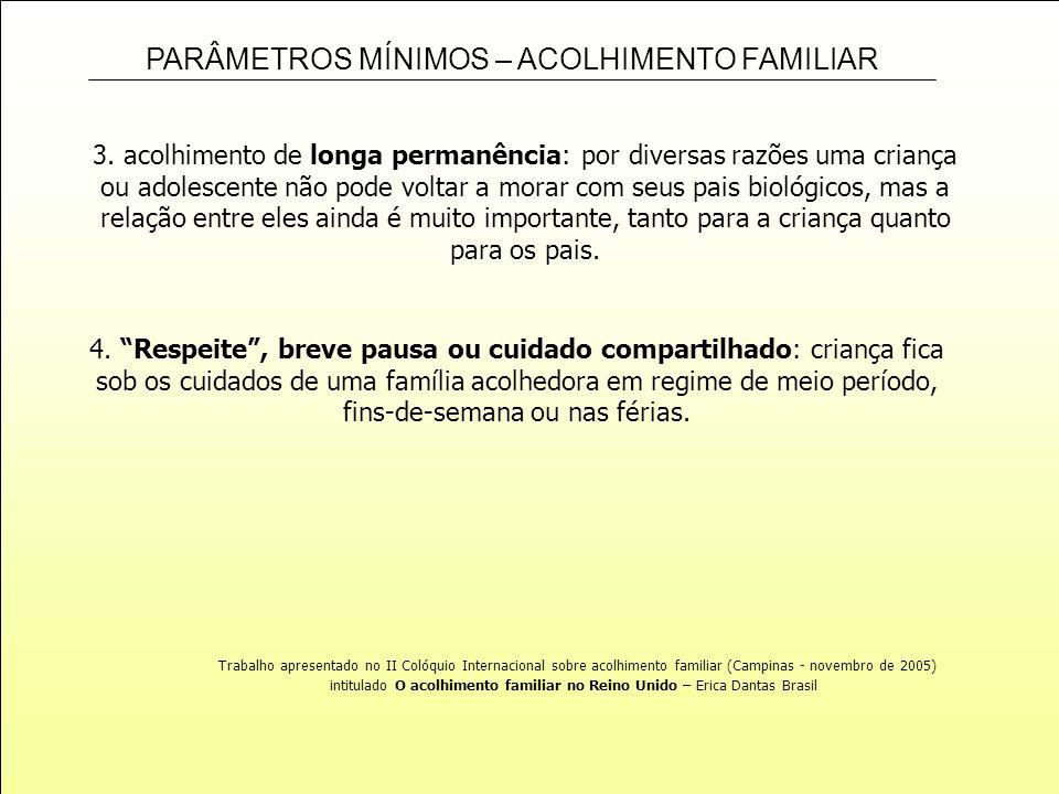 intitulado O acolhimento familiar no Reino Unido – Erica Dantas Brasil