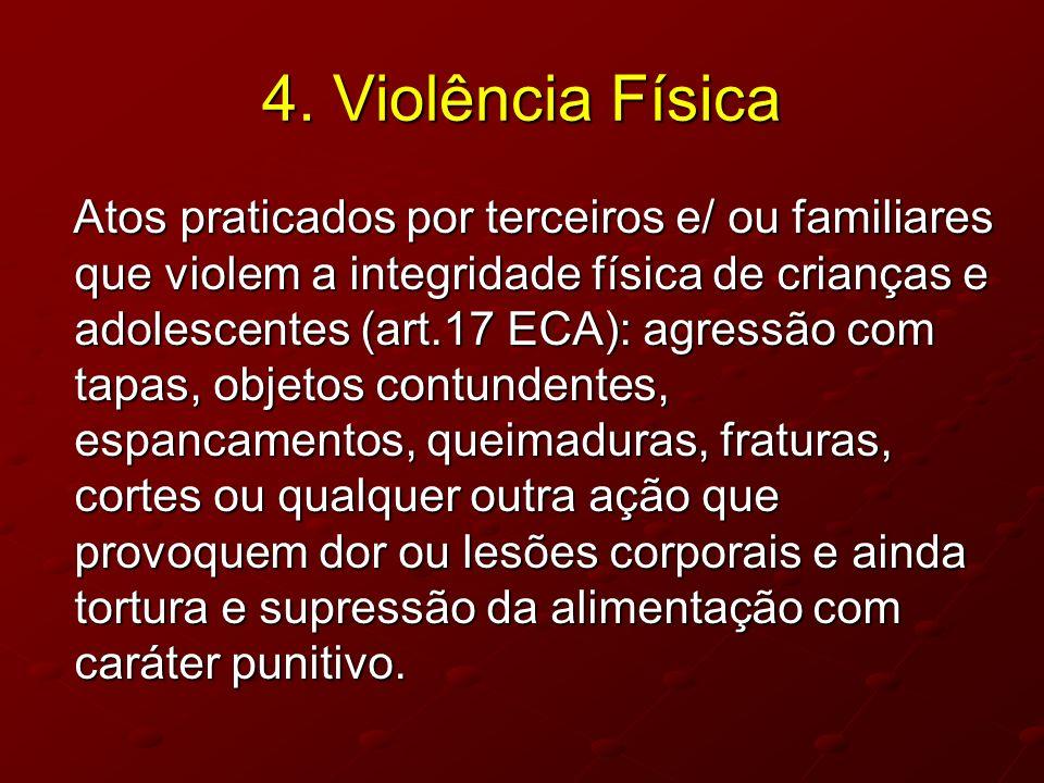 4. Violência Física