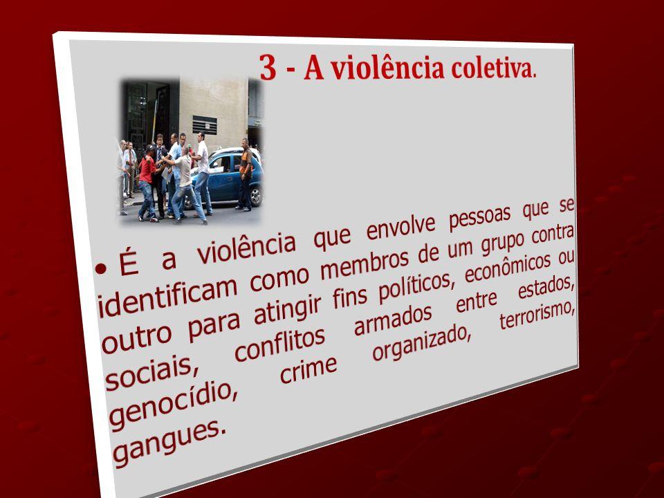 3 - A violência coletiva.