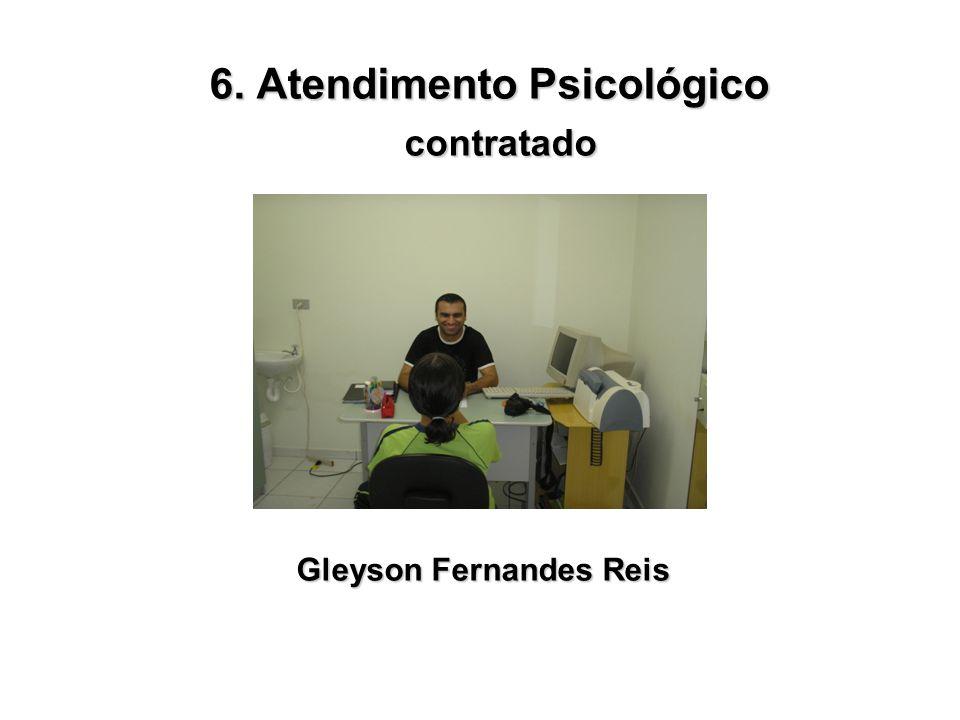 6. Atendimento Psicológico Gleyson Fernandes Reis