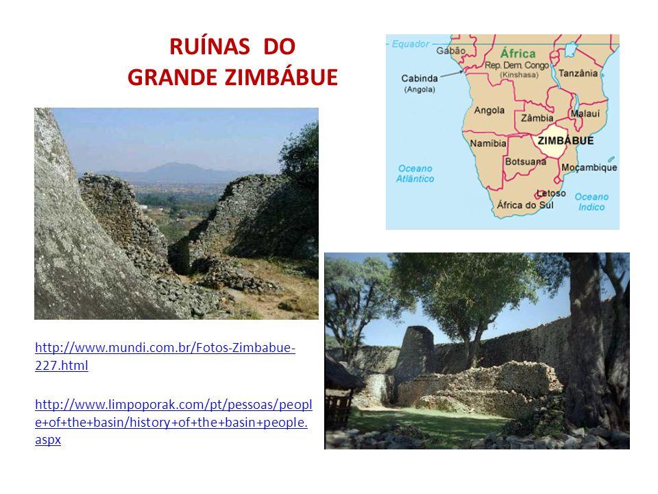 RUÍNAS DO GRANDE ZIMBÁBUE