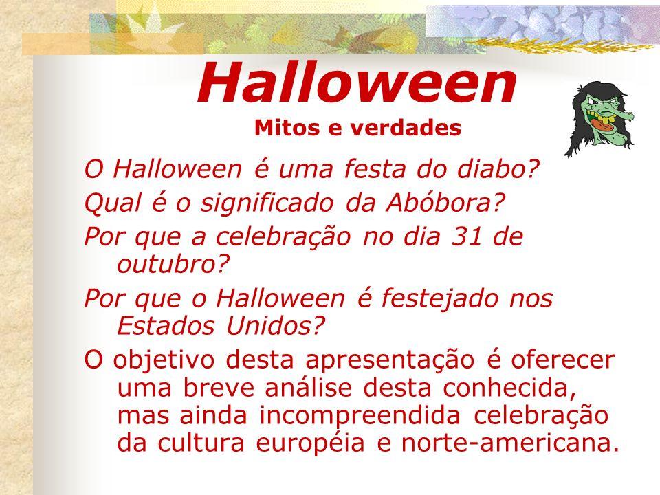 Halloween Mitos e verdades