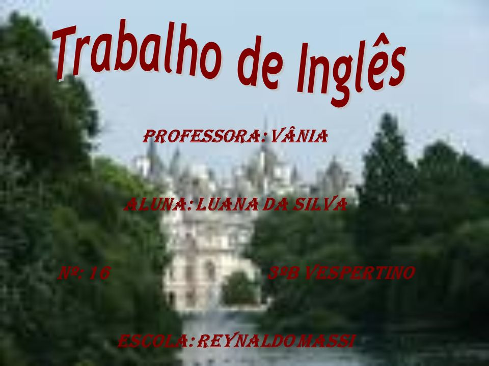 Escola: Reynaldo Massi