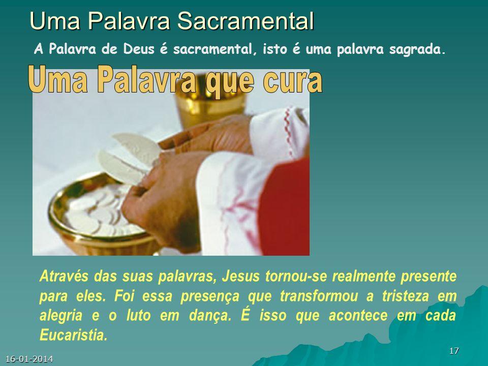 Uma Palavra Sacramental