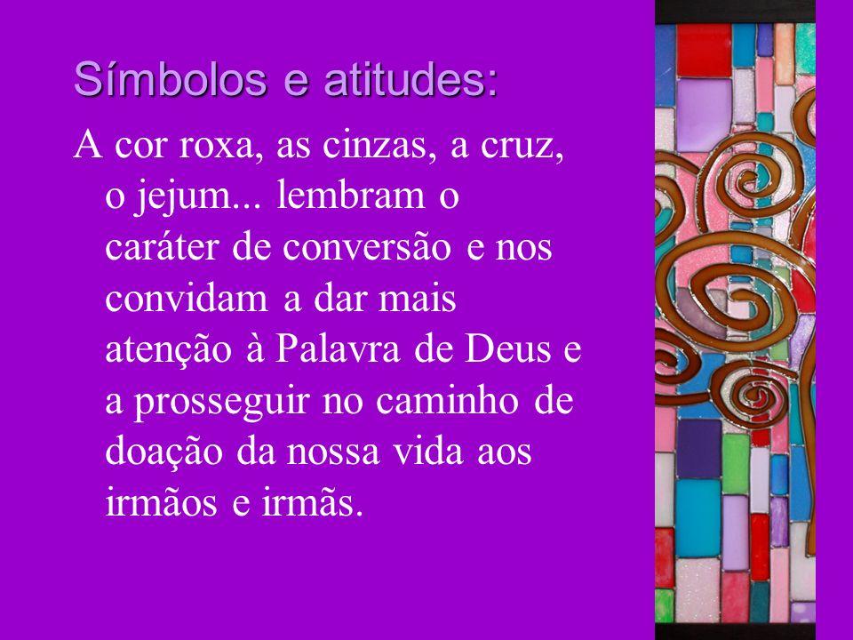 Símbolos e atitudes: