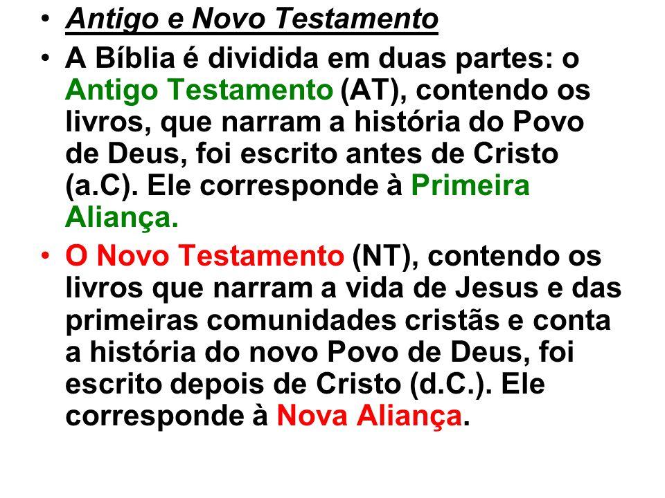 Antigo e Novo Testamento