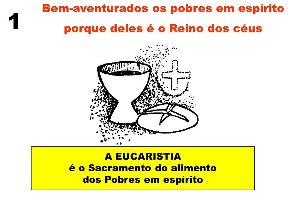 1 Bem-aventurados os pobres em espírito
