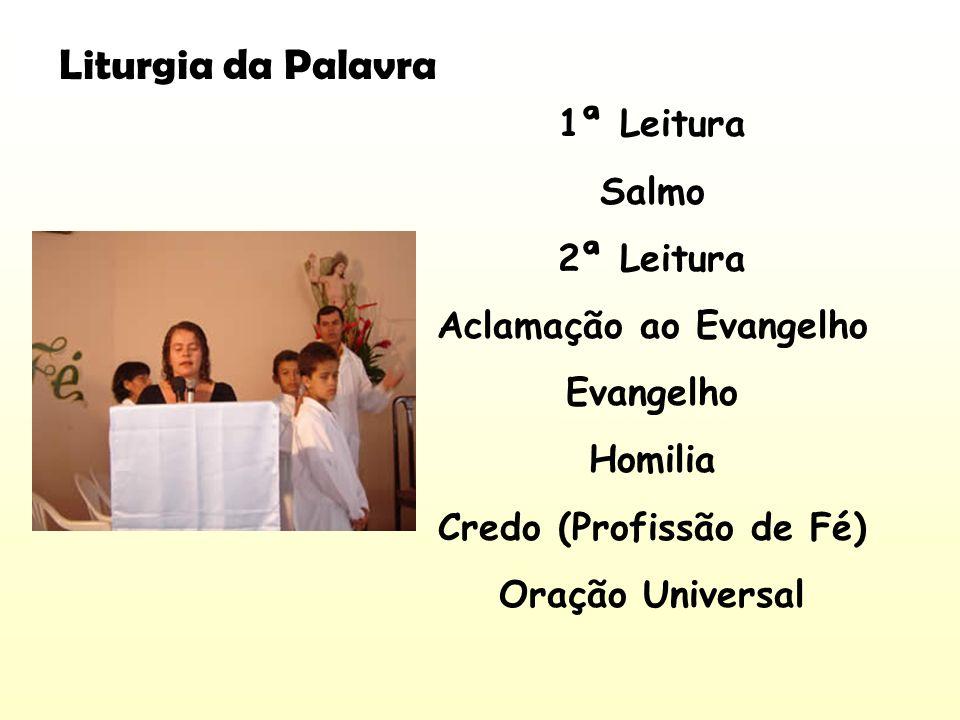 Aclamação ao Evangelho Credo (Profissão de Fé)