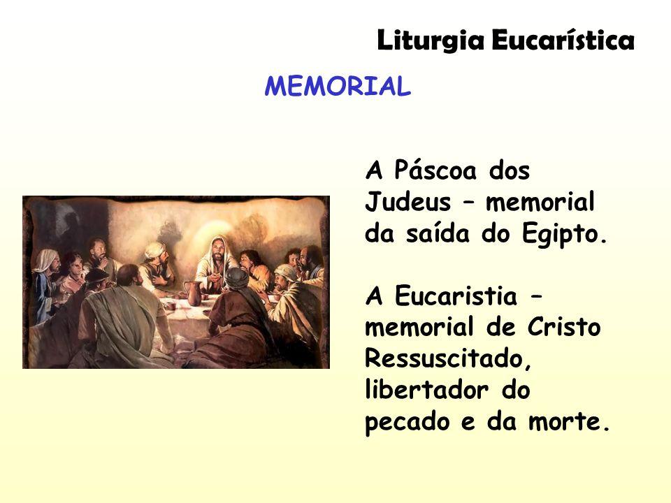 Liturgia Eucarística MEMORIAL