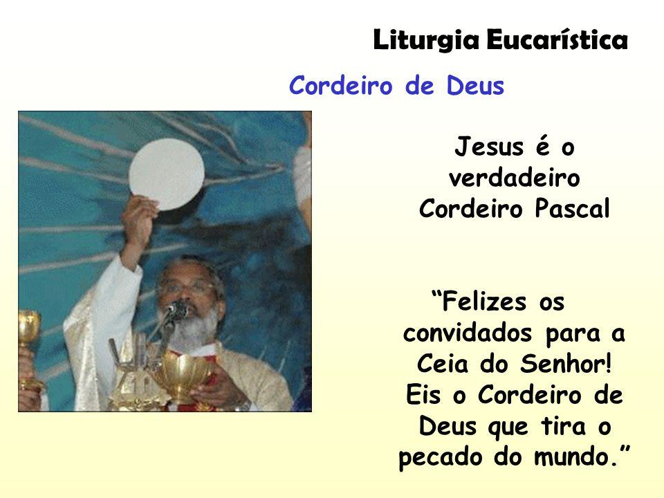 Jesus é o verdadeiro Cordeiro Pascal