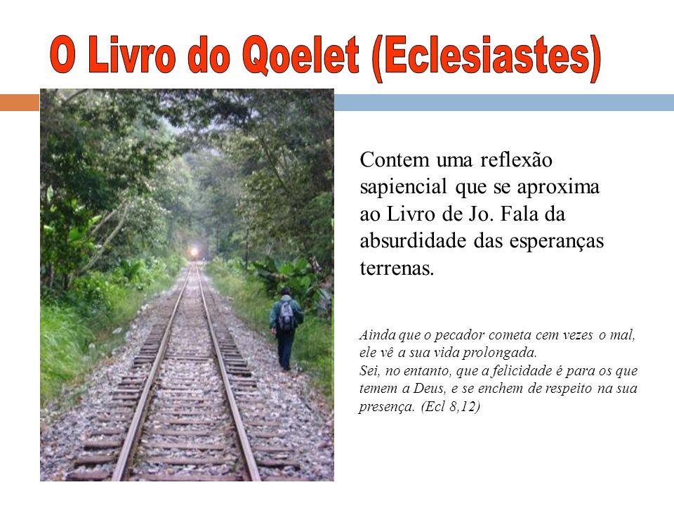 O Livro do Qoelet (Eclesiastes)