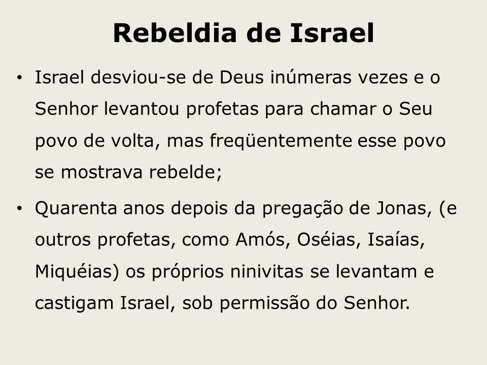 Rebeldia de Israel