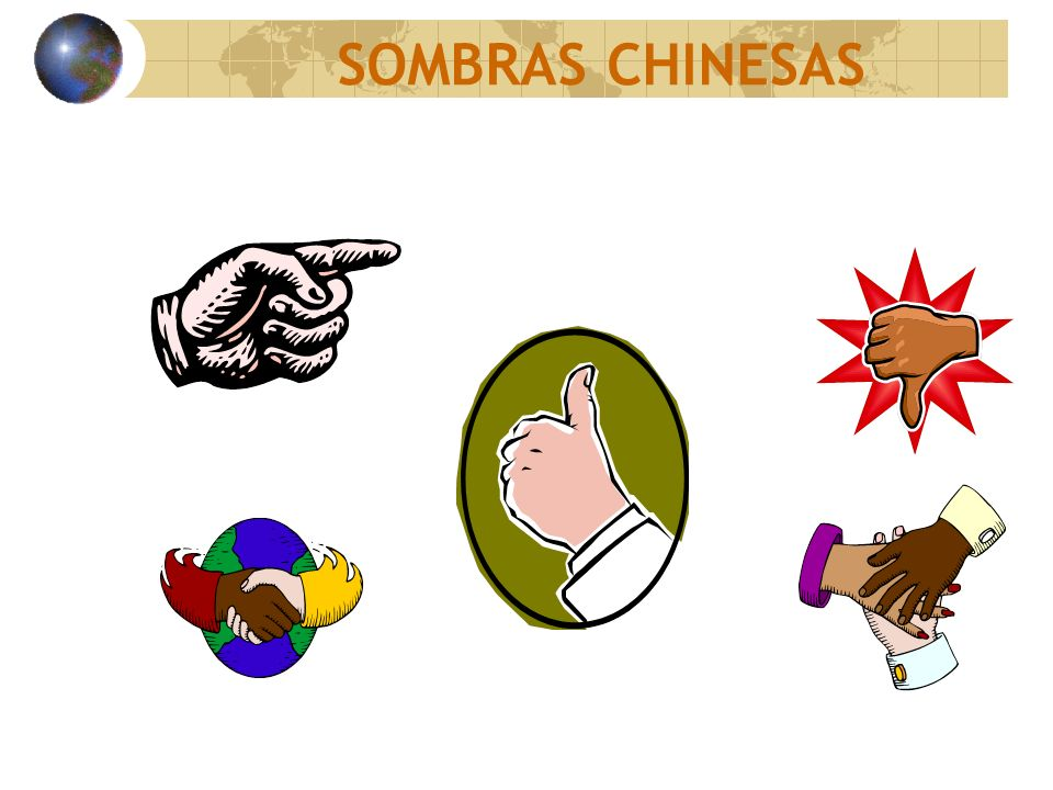 SOMBRAS CHINESAS