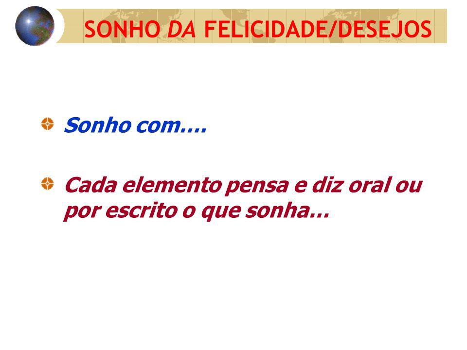 SONHO DA FELICIDADE/DESEJOS