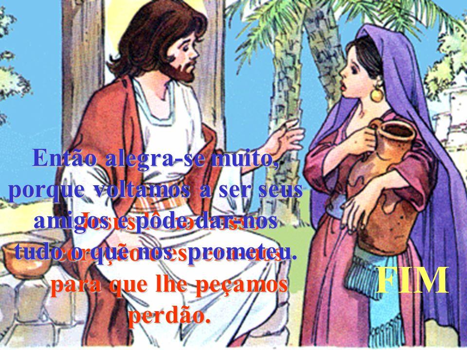 Jesus lê no nosso coração e espera-nos para que lhe peçamos perdão.