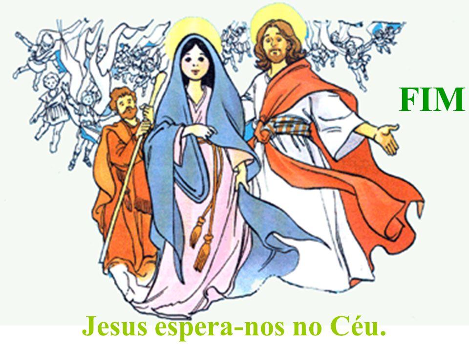 Jesus espera-nos no Céu.