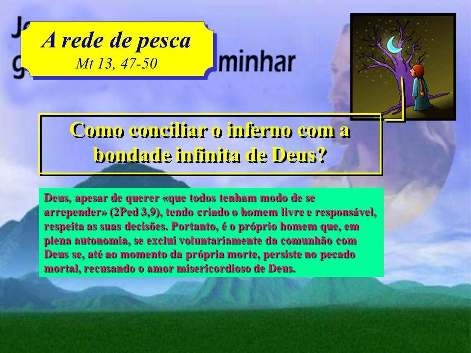 Como conciliar o inferno com a bondade infinita de Deus