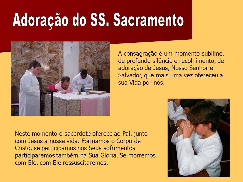 Adoração do SS. Sacramento