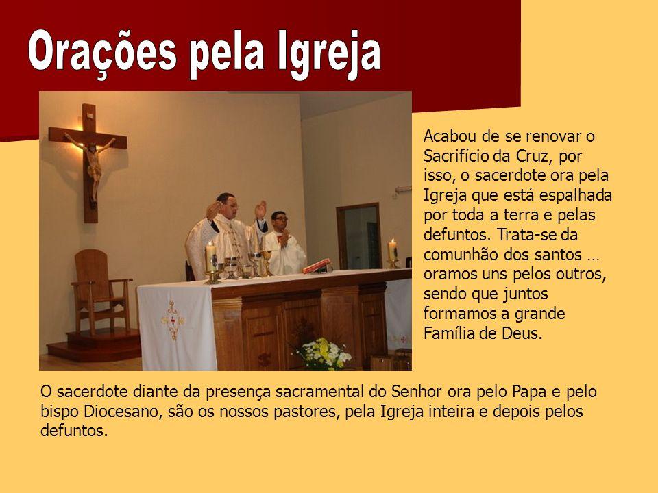 Orações pela Igreja