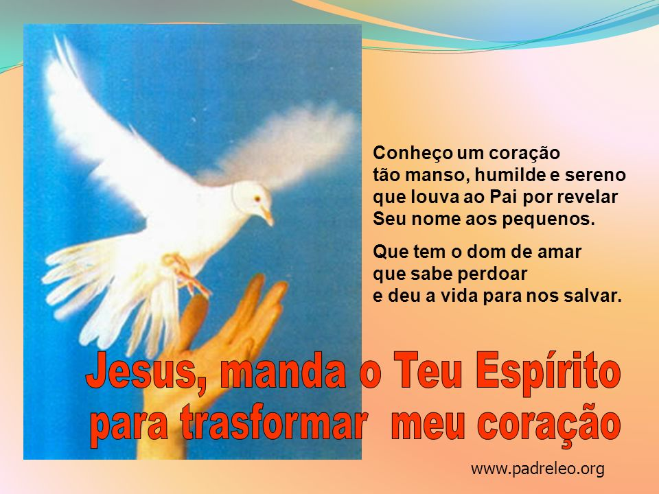 Jesus, manda o Teu Espírito