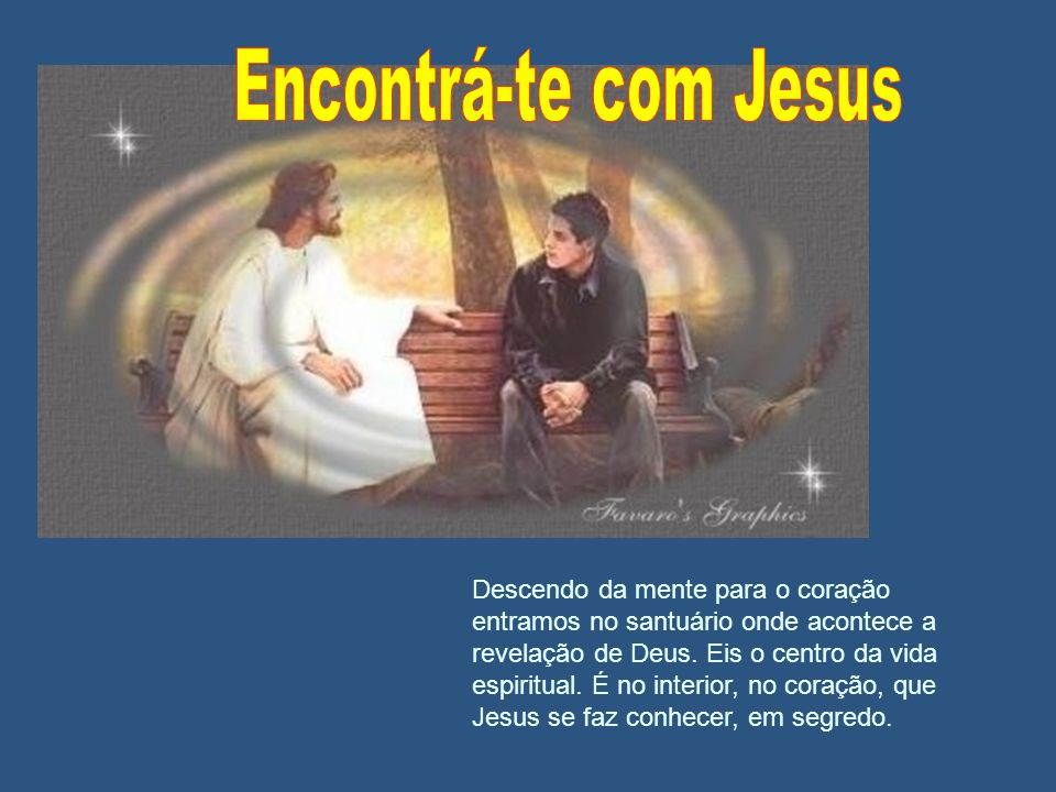 Encontrá-te com Jesus