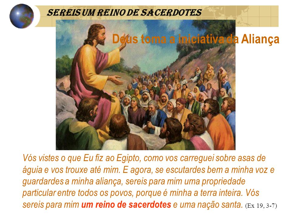 Deus toma a iniciativa da Aliança