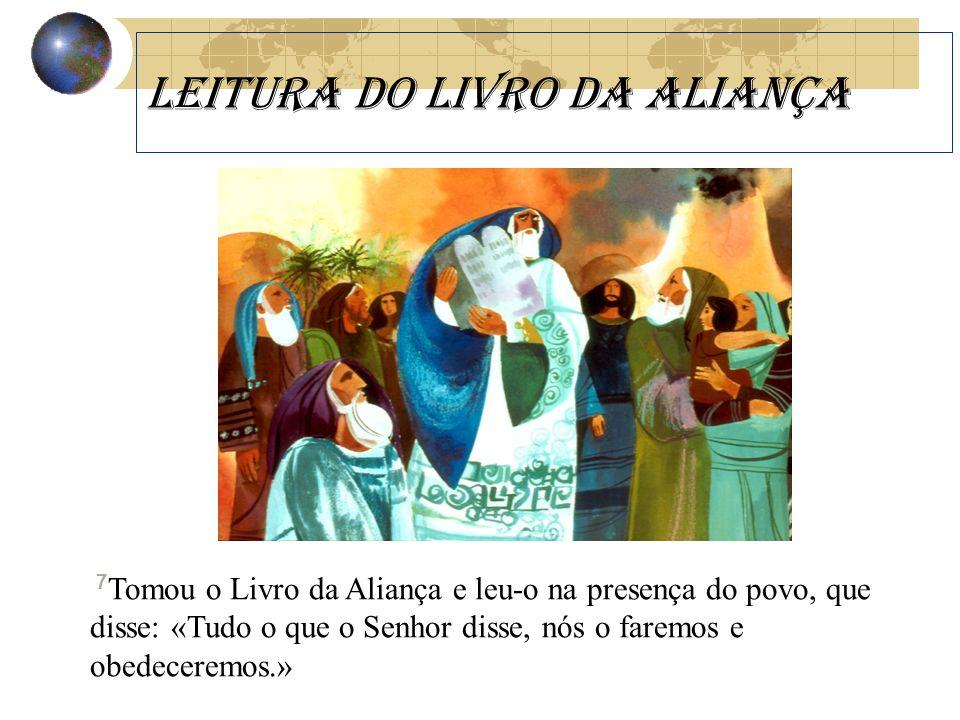 Leitura dO LIVRO DA ALIANÇA