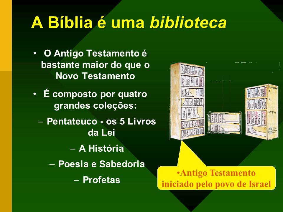A Bíblia é uma biblioteca