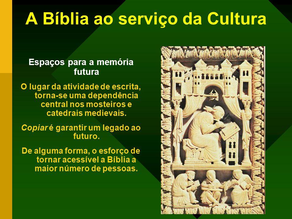 A Bíblia ao serviço da Cultura
