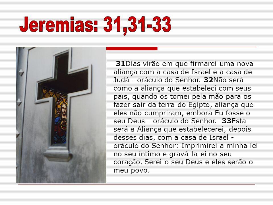 Jeremias: 31,31-33